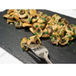 Cogumelos com alho com o Thermomix
