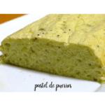 Torta de alho-poró vegetariano com thermomix