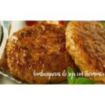 Hambúrgueres de soja vegetal