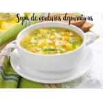Sopa de legumes purificadora com thermomix (queimador de gordura)