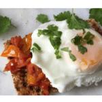 Como fazer ovos escalfados no Thermomix