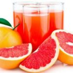 Suco de laranja e grapefruit com thermomix