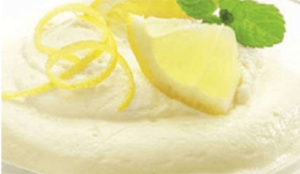 Mousse de limão com o Thermomix
