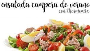 Salada campestre de verão com termomix