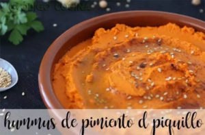 Hummus de pimenta Piquillo com termomix