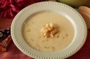 Sopa fria de coco na Thermomix