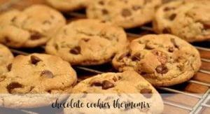 Biscoitos de chocolate com lascas de chocolate na Thermomix