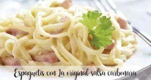 Spaghetti carbonara com Thermomix