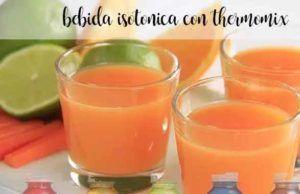 Bebida isotónica com Thermomix