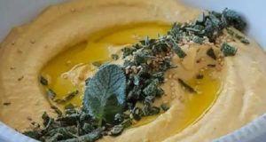 Hummus de abóbora com Thermomix