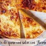 Cheesecake de sidra com cidra com Thermomix