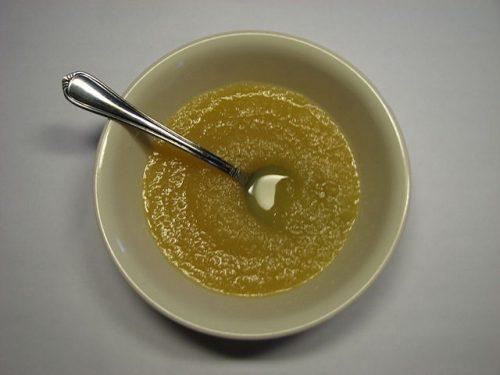 Receita de molho de maçã e hortelã com thermomix