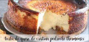 Cheesecake de Cristina Pedroche com termomix