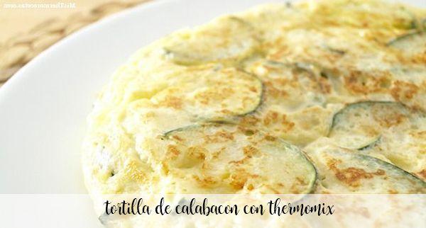 Omelete de abobrinha com Thermomix