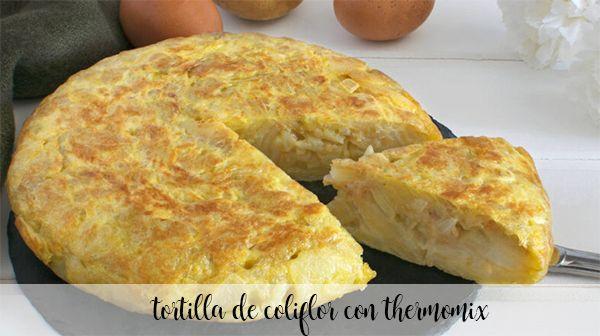 Tortilhas de couve-flor com thermomix