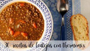 30 receitas com lentilhas com termomix