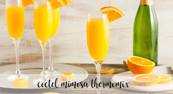 coquetel de mimosa com termomix