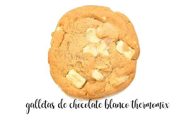 Cookies de chocolate branco com bimby